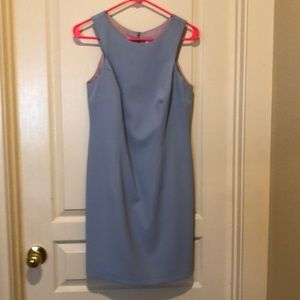 Laundry by Shelli Segal Periwinkle dress.